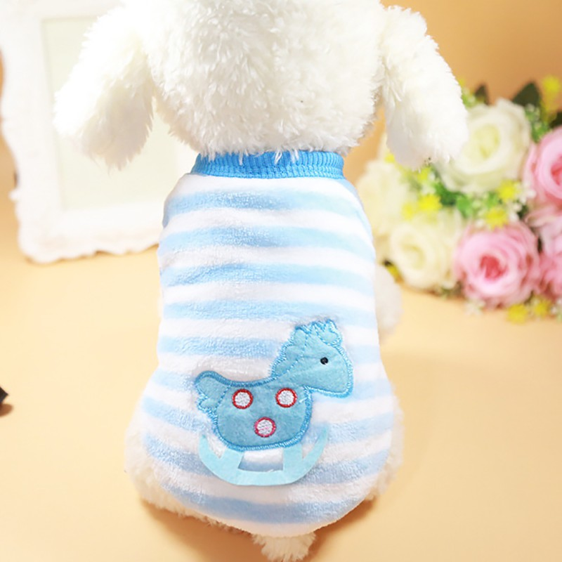 Classics Pet Dog Clothes For Small Dogs Clothing Pet Coat Cartoon Clothes For Dog Sweater Vest Clothes Teddy Chihuahua Jacket