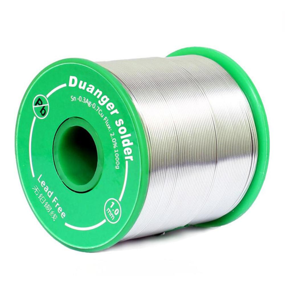 Lead Free Solder Wire Sn99 0.3Ag Cu0.7 with Rosin Core for Soldering 100g 1.0mm