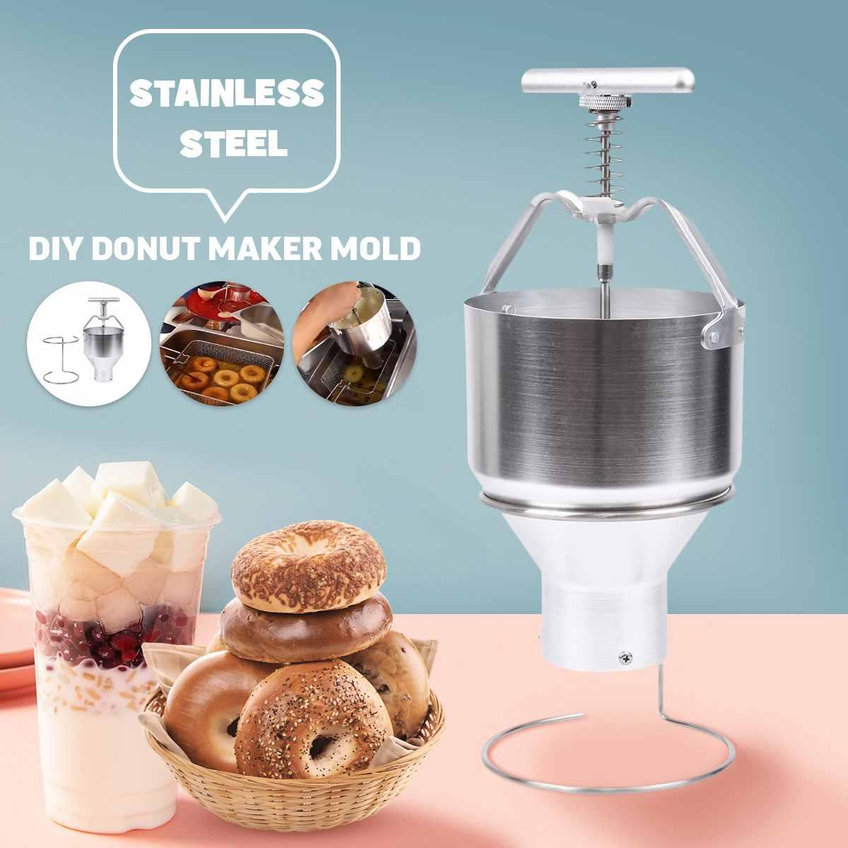 Manual Donut Dispenser Doughnut Cake Dropper Maker Depositor Plunger Hopper