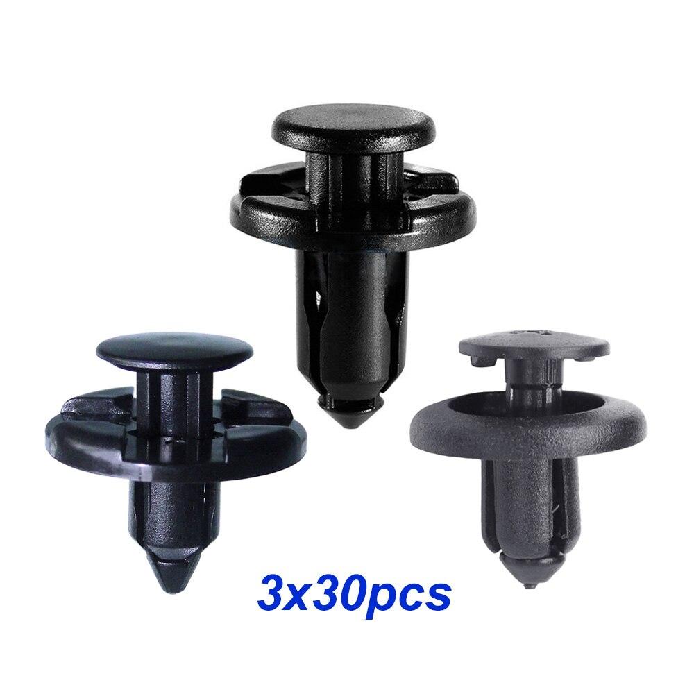 PEUGEOT Push-pin fastener trim panel clips 10x