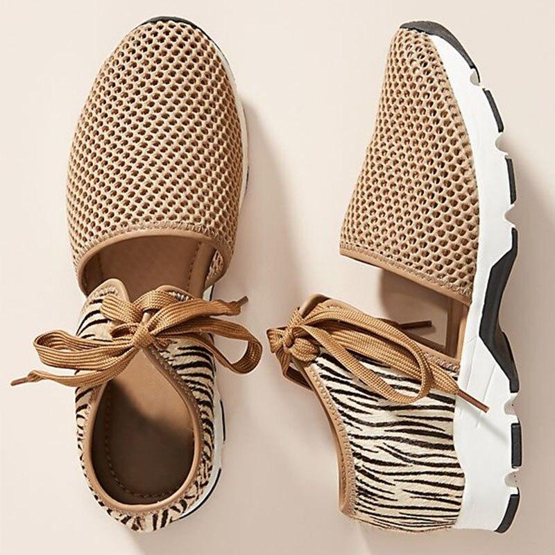 Women Sneakers Woman Mesh Breathable Vulcanized Female Trainers Shoes Women