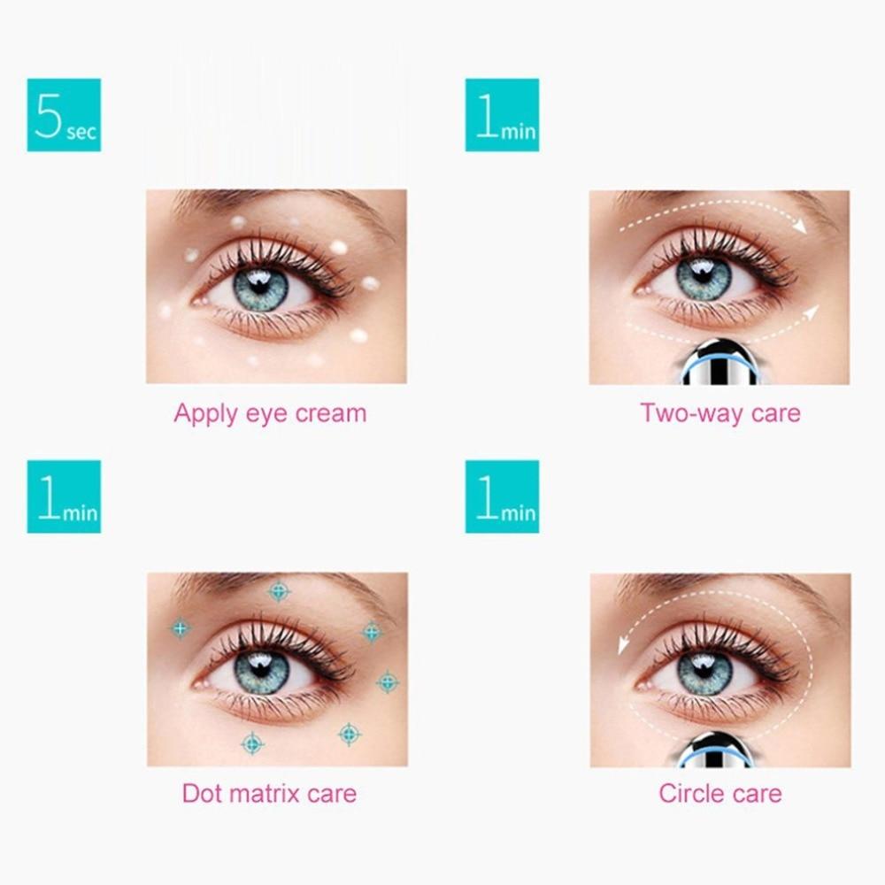 Massage des yeux et des lèvres sonique anti rides