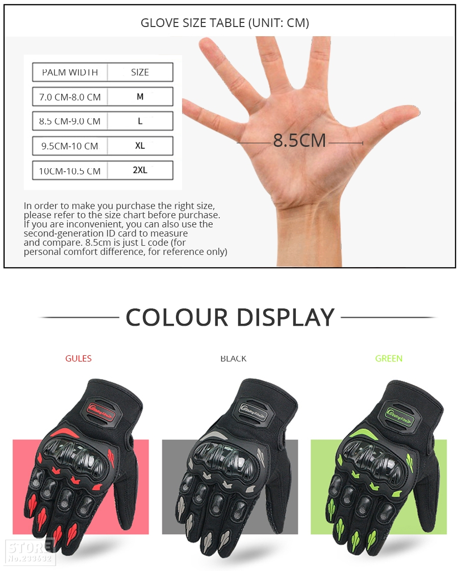 Gloves Pro-Biker Collection (22) 34