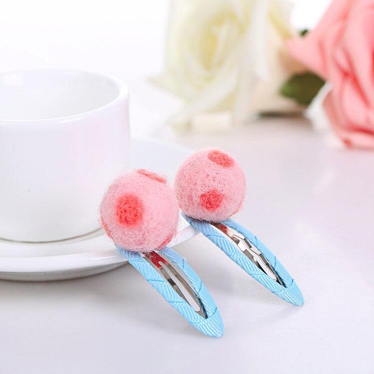 Cute bowknot hair clip kids Polka Dot Hair Clip Headwear Baby  Kids Baby Girls Hairpins Clips baby hair accessories