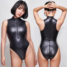 Swimsuits Bodysuit Swimwear Leotards Japanese LEOHEX One-Piece Sexy Women Sleeveless