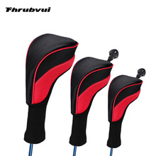 Golf-Head-Covers Driver Woods Fairway for 3pcs/Set 1/3/5
