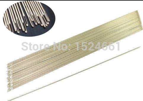 0.5mm Jewelry Findings 30 PCS Hand Sewing Craft Needle Length 80 mm Dia
