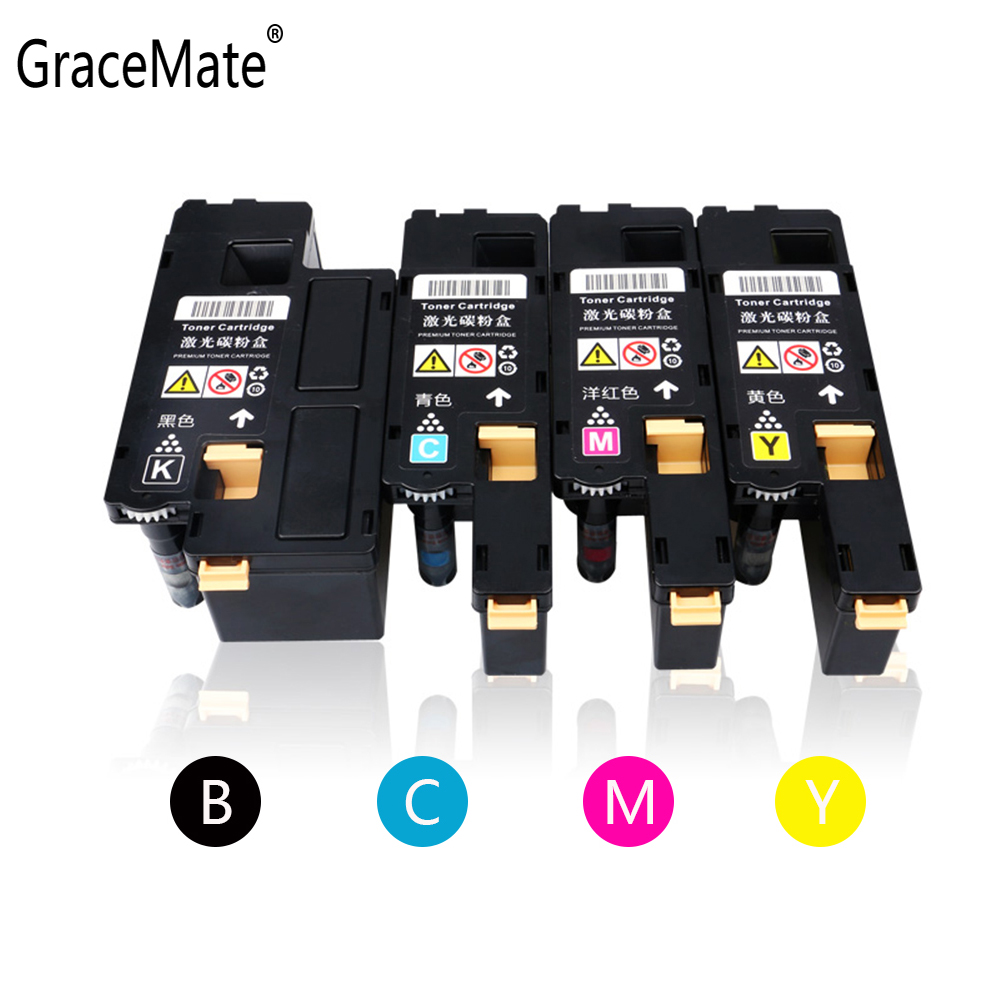 GraceMate Toner Cartridge Compatible for Xerox Phaser 6020 6022 Workcentre 6025 6027 for 106R02763 106R02760 106R02761 106R02762