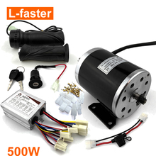 Scooter-Brush-Motor-Kit Motorcycle Electric 500W Child 24V 24V36V48V Mx350-Upgrade UNITE