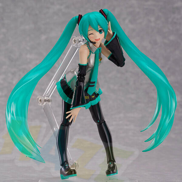 Guitar Hatsune Miku Action Anime Figure Toy Guitar PVC In Box 14CM NEW