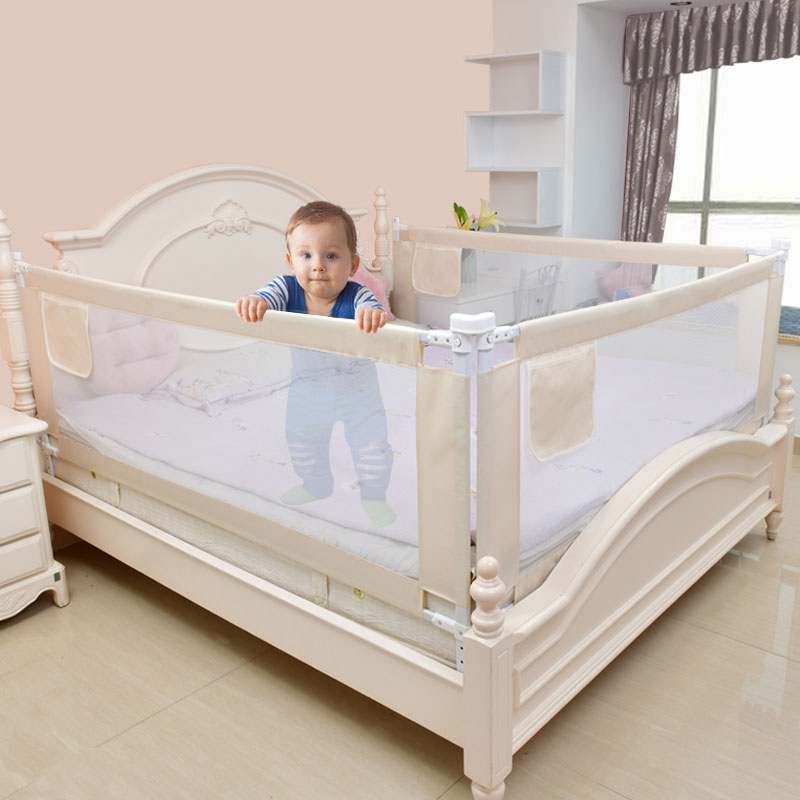 baby playpen bed safety rails for babies children fences fence baby safety gate crib barrier for bed kids for newborns infants title=