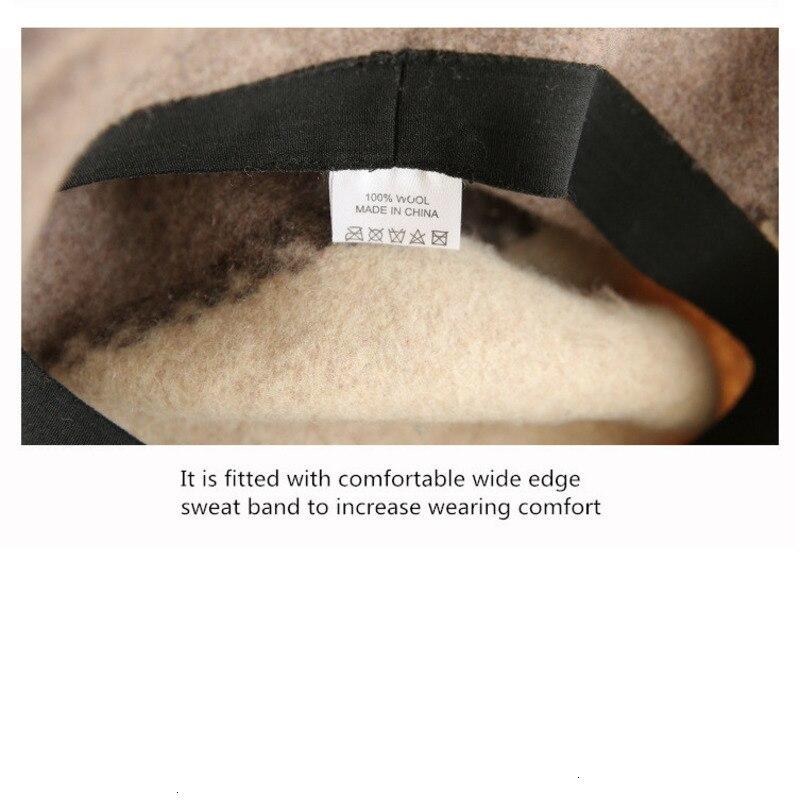 Autumn Winter Wool Hats Fisherman Women Hats Women Handmade Wool Cap Retro Bucket Hat Christmas Gift Basin Cap New