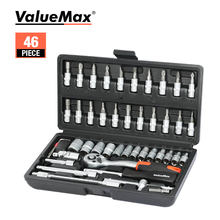 ValueMax Hand Tool Sets Car Repair Tool Kit Set Mechanical Tools Box for Home 1/4-inch