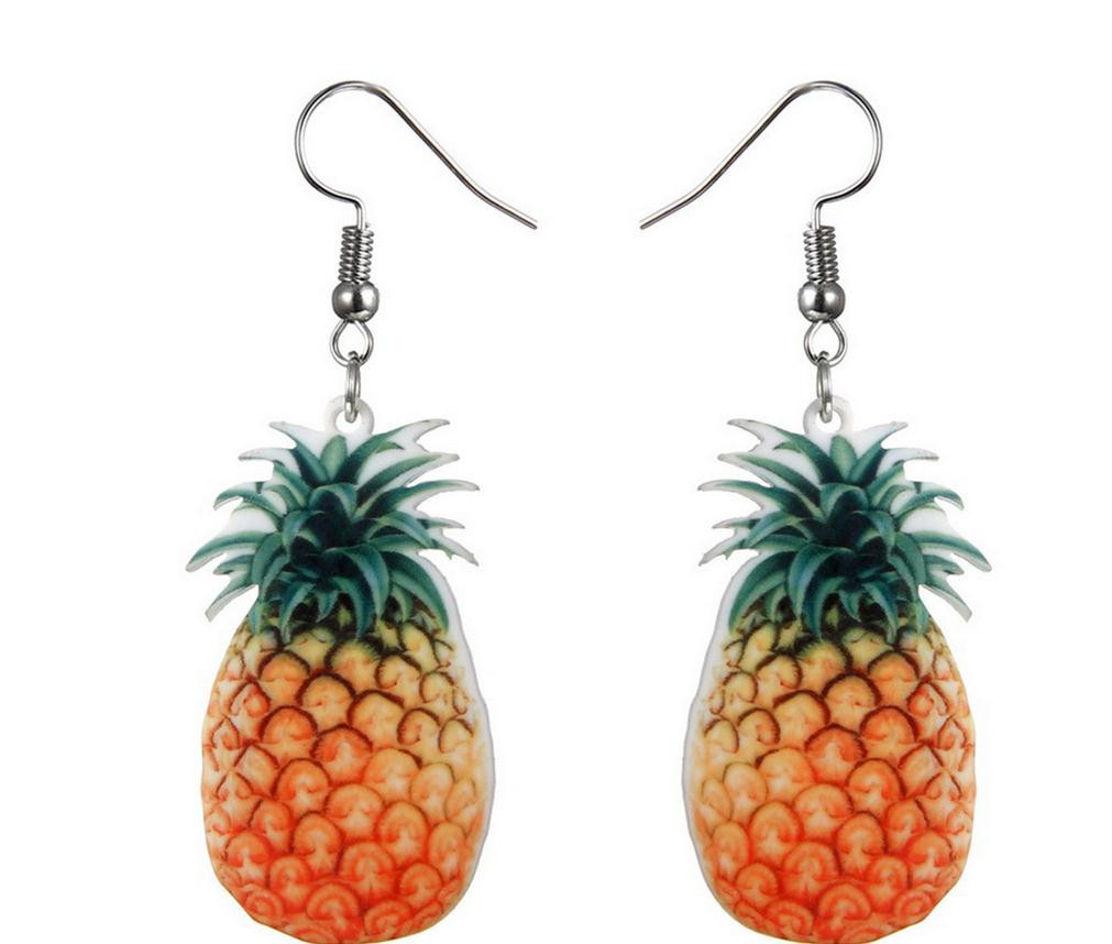 Creative temperament small fresh fruit earrings fashion trend sweet and lovely hot earrings wild gift party wedding jewelry 924