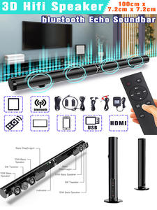 Bluetooth Speaker Surround-Support Tv-Soundbar Hifi 3d-Stereo Home Theater Wireless Stylish