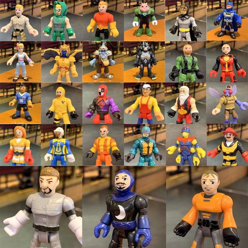 "2.8/"" Fisher Price Imaginext Power Rangers Black Ranger Action Figure Boy Toy"
