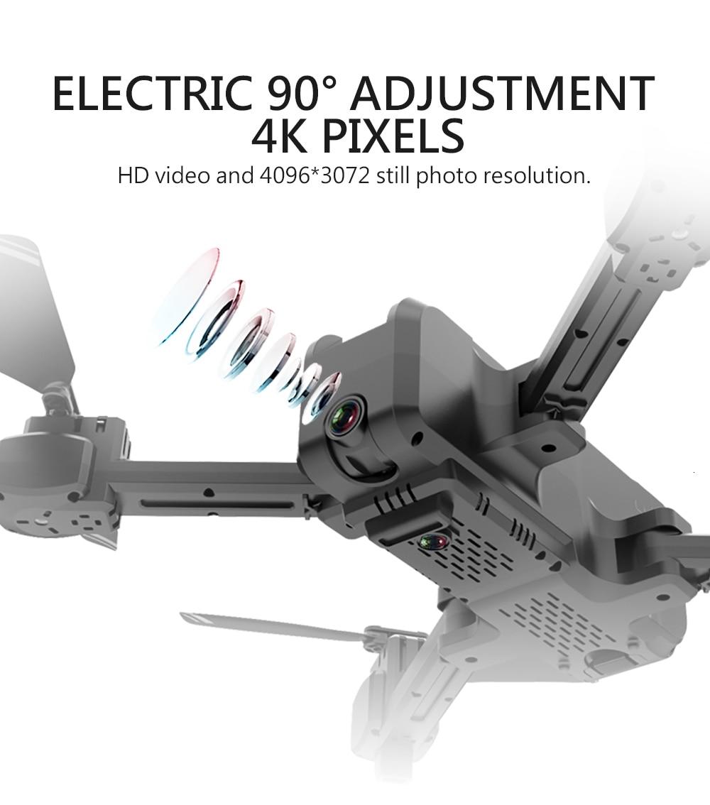 KF607 WIFI FPV RC Foldable Drone WiFi 1080P Camera Headless Mode