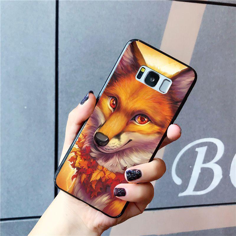Animal fox in the wild Autumn