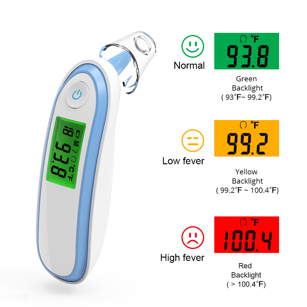 BOXYM Baby Thermometer Infrared Digital LCD Body Measurement Термометр Forehead Ear Non-Contact Body Children Termômetro