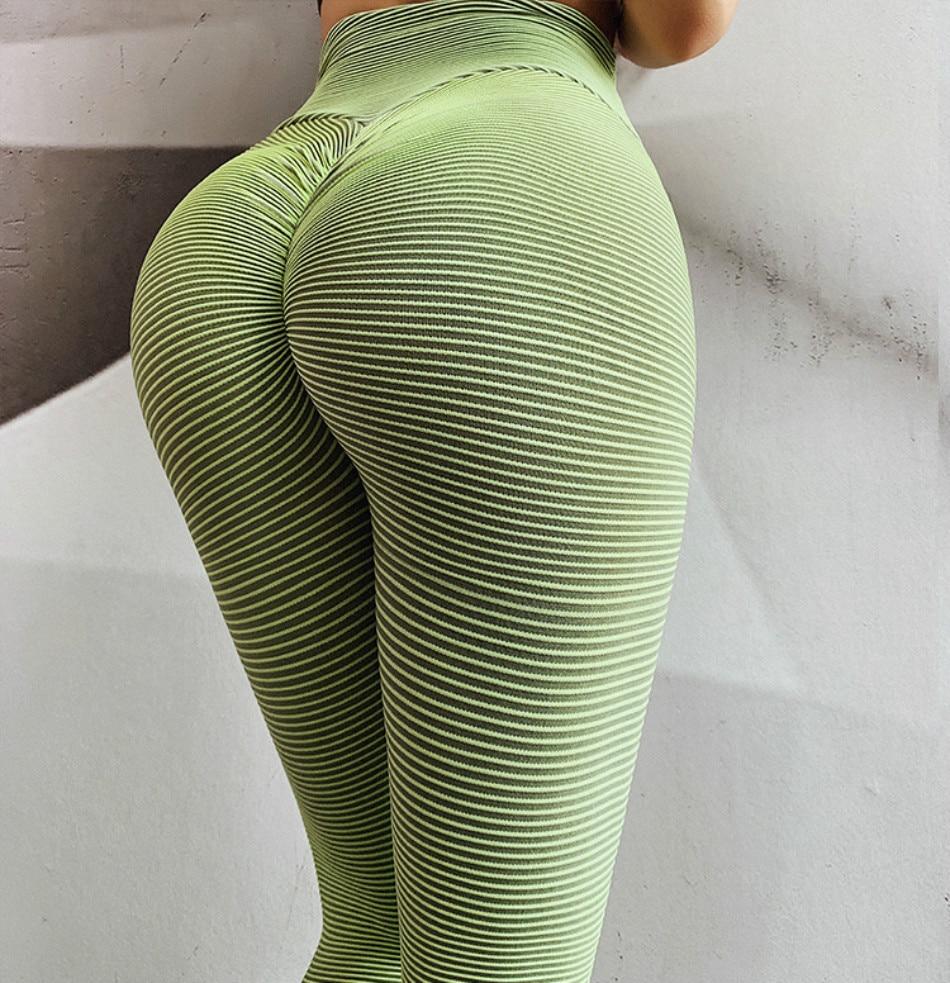 ThsiJJ Womens High Waist Yoga Short Abdomen Control Training Running Yoga Pants