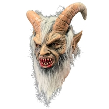 Scary mask demon devil Horn latex Masks Halloween movie cosplay decoration Dropship