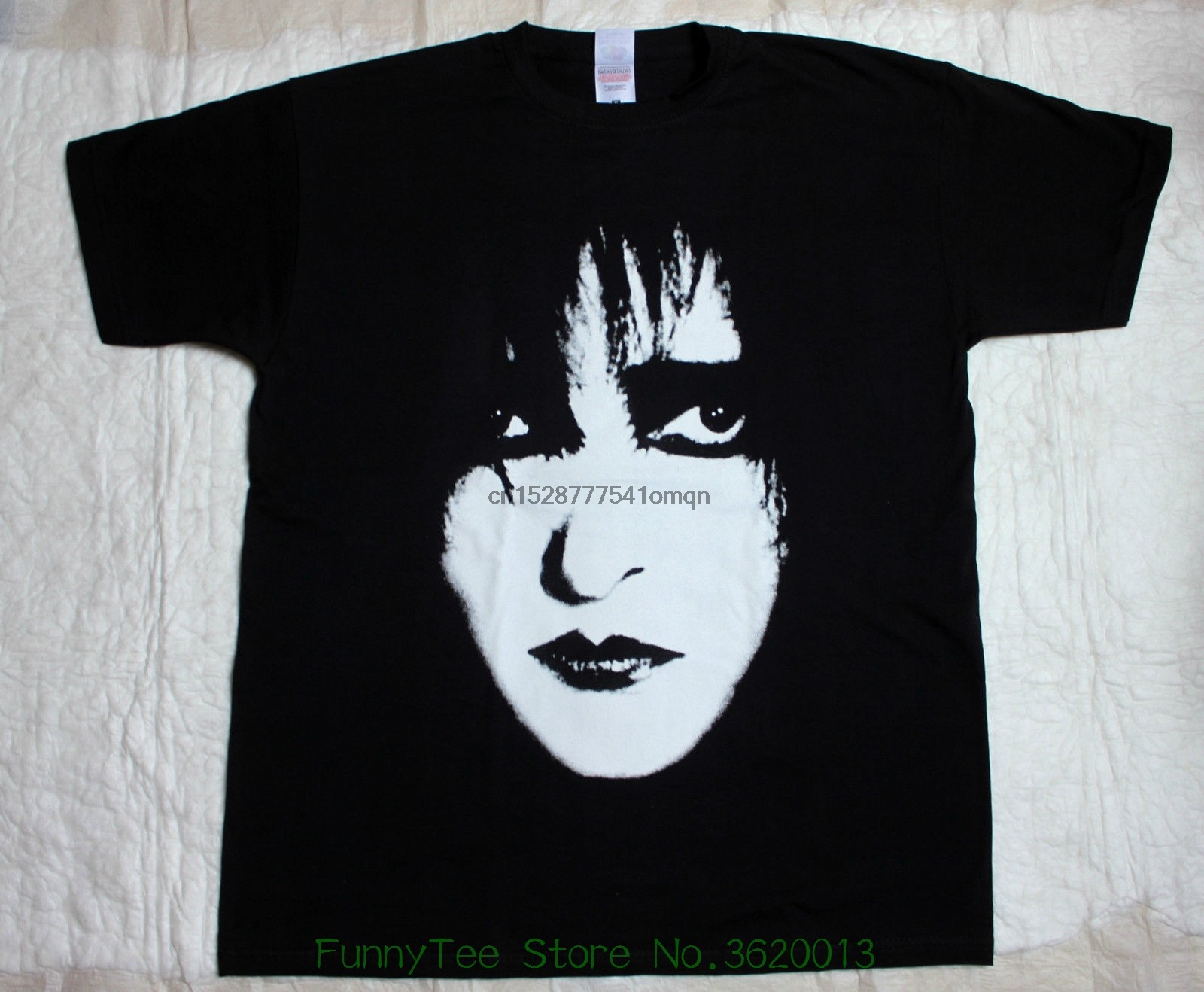 OFFICIAL LICENSED WHITE EVE T SHIRT SIOUXSIE AND THE BANSHEES GOTH PUNK