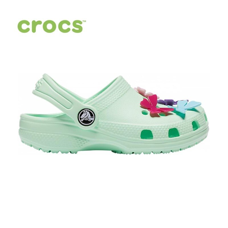 CROCS Classic Butterfly Charm Clg PS KIDS|Мюли и сабо| |