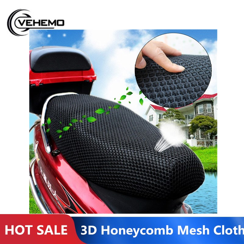 Seat-Cover Motorcycle Scooter 3D Cushion Bicycle-Sunscreen Sun-Pad Protect Insulation title=