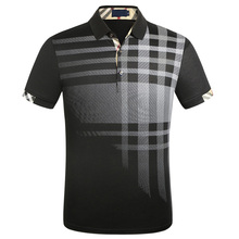 Jerseys Shirt Polos Short-Sleeve Plus-Size Men's Cotton Brand-New Camisa M-3xl