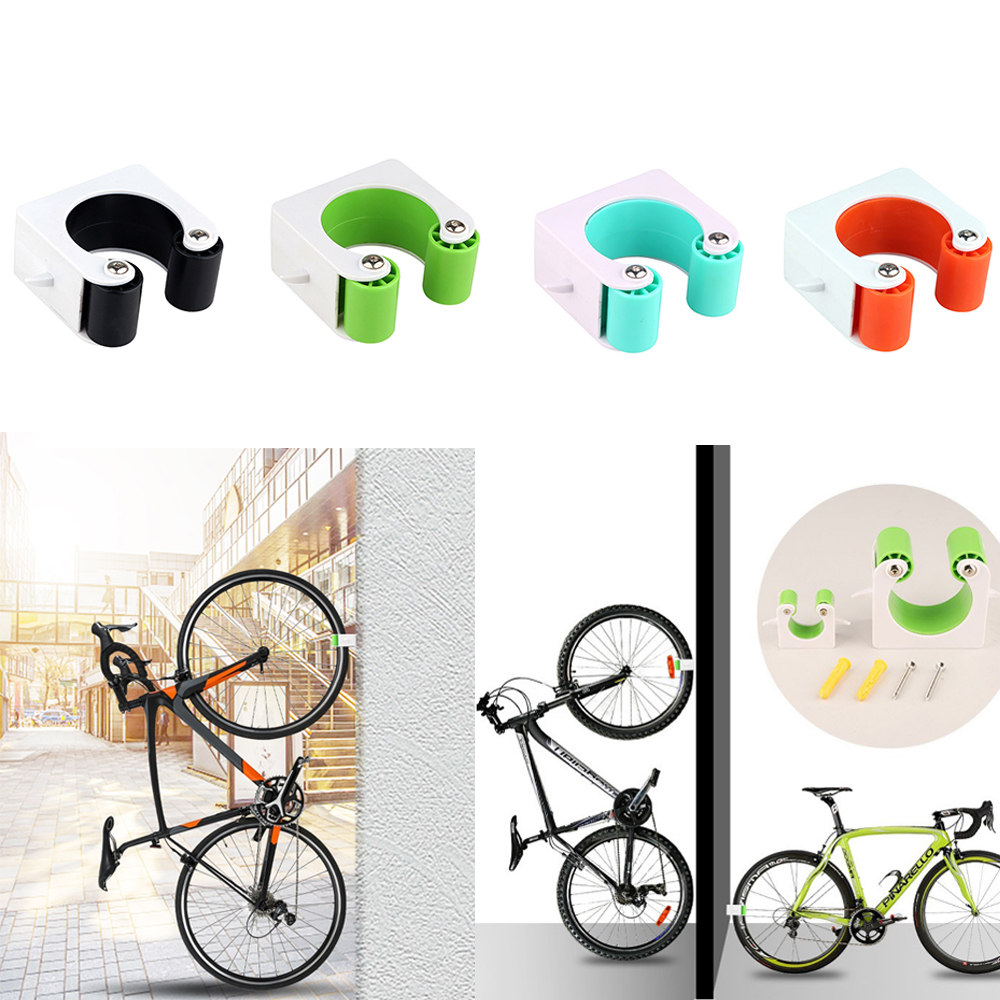 Bike Parking Clip Buckle Bicycle Storage Parking Buckle Rack for Indoor Outdoor