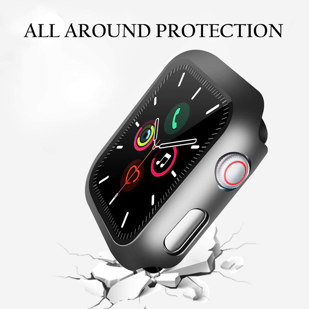 Tempered Glass Screen Protector For Apple Watch 6 5 4 3 2 44mm 40mm 42mm 38mm iwatch Protective Film Protection Screenprotector