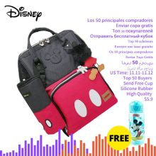 Disney Diaper-Bags 3d-Doll Travel Maternity-Backpack Mickey Large-Capacity Mummy Classic
