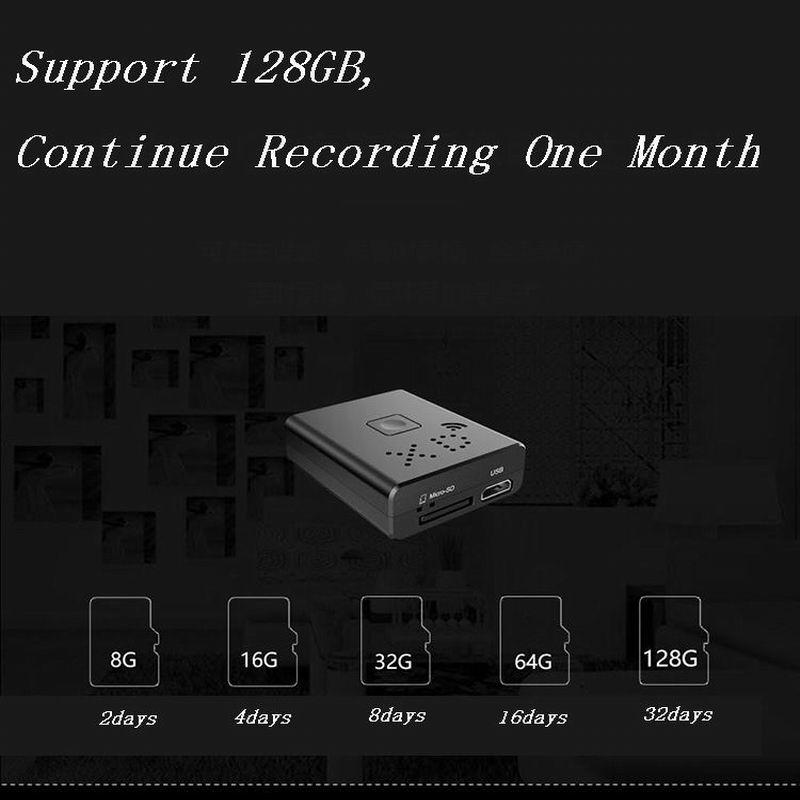 Volemer XD Wifi Mini Camera HD 1080P Home Security IR Night Vision Wireless Video Camera Motion Detection Portable Micro Camera (10)