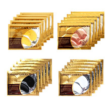 Eye-Mask Eye-Care-Combination Crystal Moisturizing Anti-Wrinkle Gold Collagen 20pairs