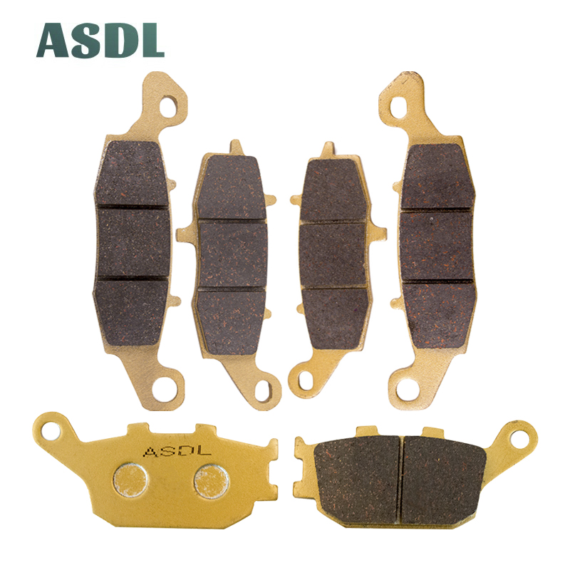 /2013 AHL Motorcycle Front and Rear Brake Pads for SUZUKI DL 650/V-Strom 2004/
