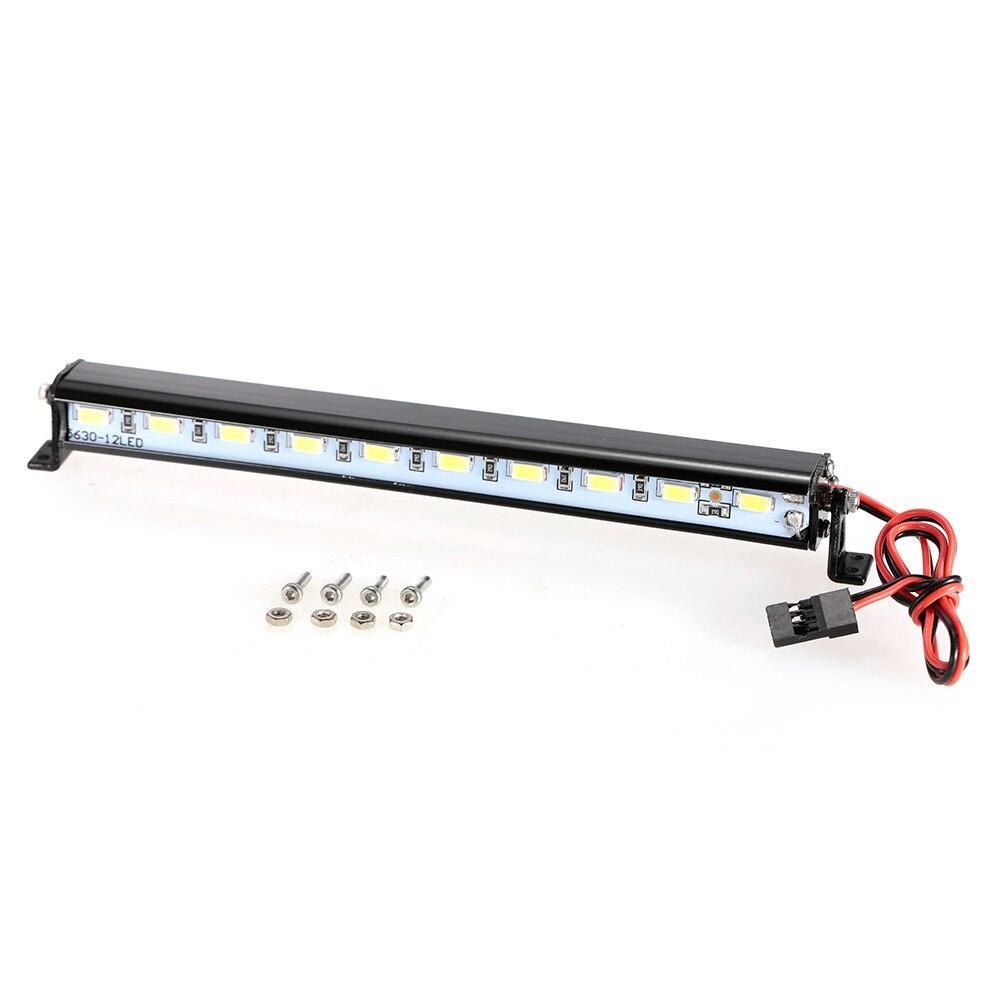 Metal Roof Lamp LED Light Bar for RC Car 110 RC Crawler Traxxas Trx-4 SCX10 90027 SCX10 II 90046 RC4WD D90 Car Truck Part (2) -