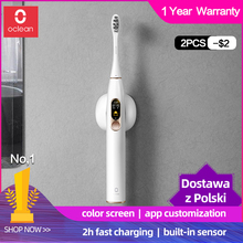 Xiaomi Electric Toothbrush Mijia Ultrasonic Fast-Charging Waterproof Global-Version Automatic