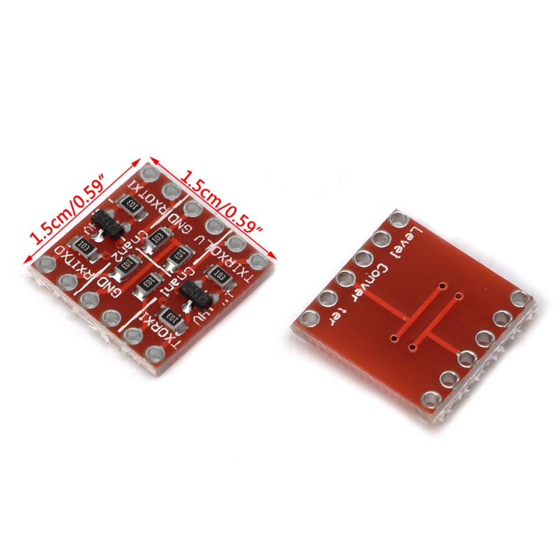 5Set 4 Channel Bi-Directional Logic Level Shifter Converter 3.3V-5V for Arduino/_
