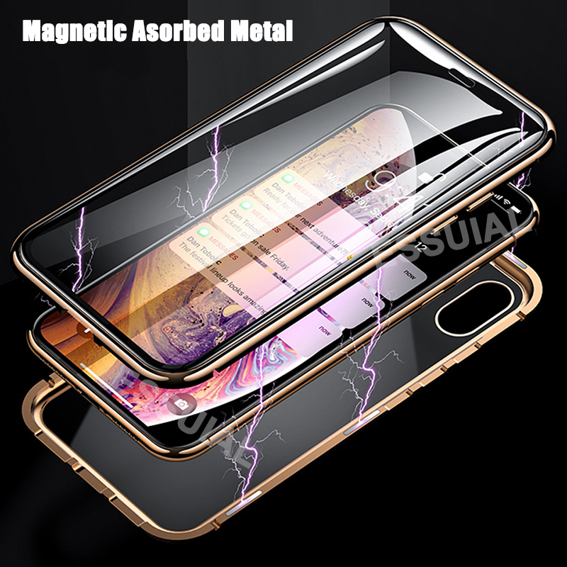 Eqvvol-Metal-Magnetic-Adsorption-Case-For-iPhone-XS-MAX-X-XR-8-7-Plus-6-6s (1)