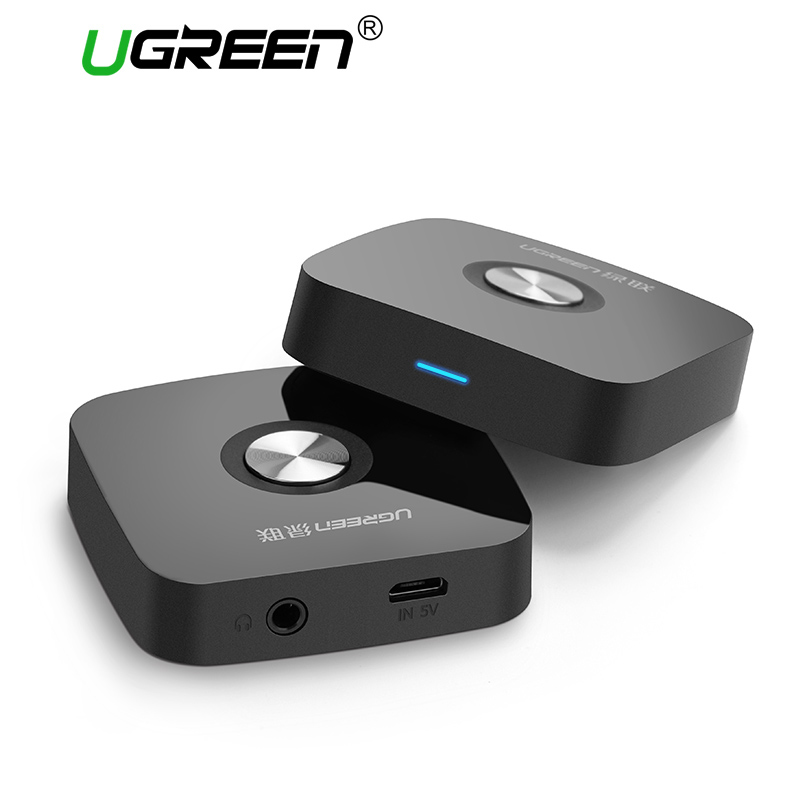 Ugreen Bluetooth Receiver 4.2 Wireless Bluetooth Audio Receiver 3.5mm Car Aux