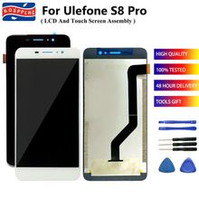 "US $14.42  21%OFF | 100% Tested Well For Ulefone S8 Pro LCD Display Touch Screen Digitizer Assembly Replacement For 5.3"" Ulefone S8Pro S 8pro +Tools"