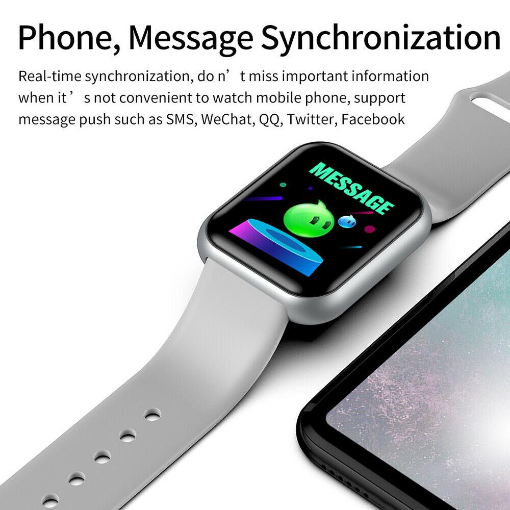 Electronics - Smart Watch Waterproof Smartwatch For Android IOS Smart Watch Kids Men Women Heart Rate Monitor Blood Pressure Watch