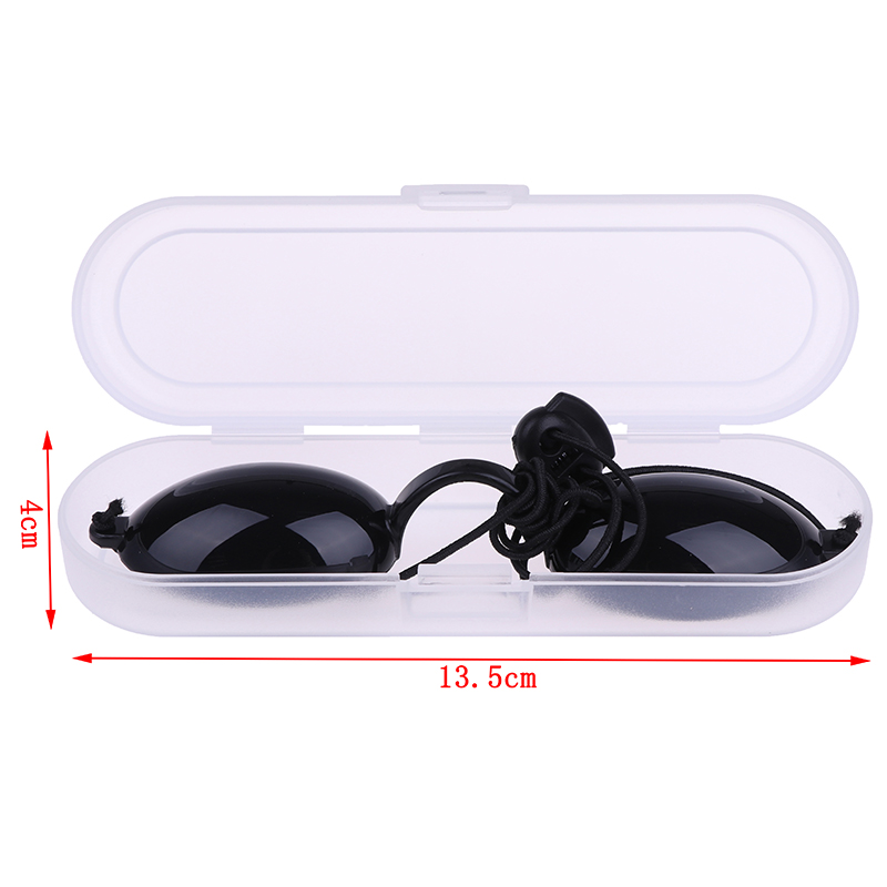 1X Adjustable Full shading Safety Eyepatch Glasses Laser Light Safety Protection Goggles for Tattoo Photon Beauty Clinic Patient