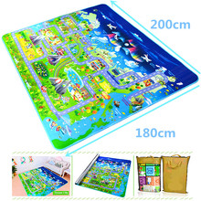 Toys Carpets Play-Mat Gym-Games Eva-Foam Soft-Floor Baby Kids Children's Rug for Developing-Mat