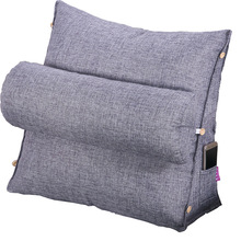 Sofa Cushion Back-Pillow Bed Backrest Tv-Reading Lounger Office-Chair Lumbar Home-Decoration