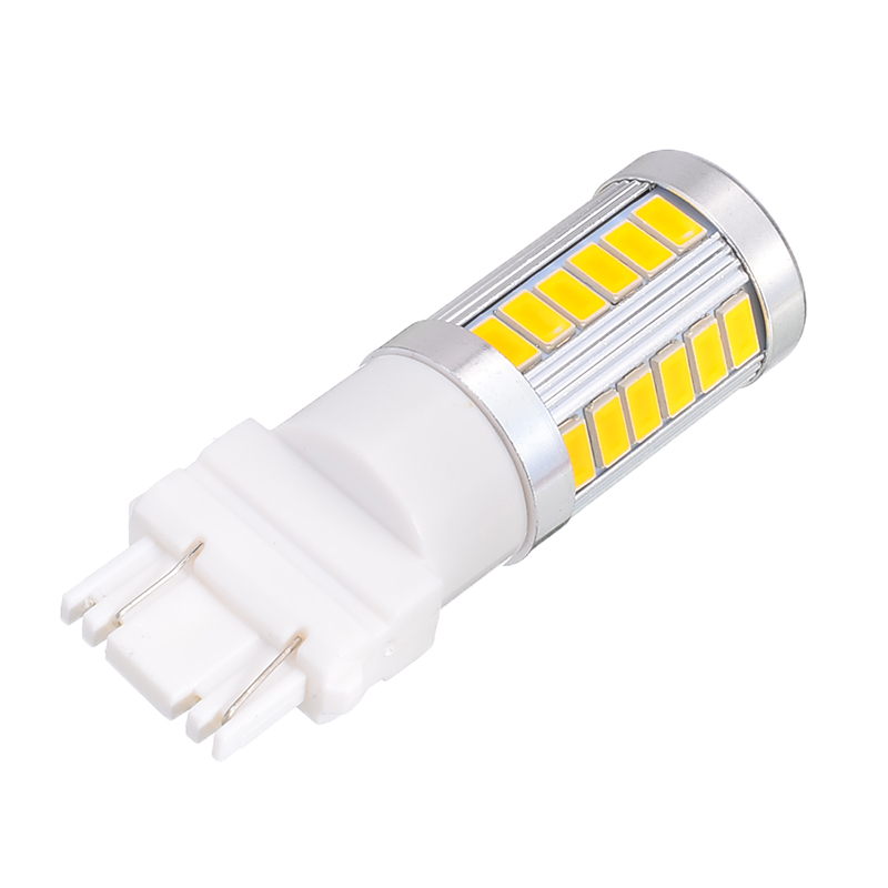 DC 12V 3157//3156//3057 33LED Amber Car Tail Backup Reverse Turn Signal Light Lamp