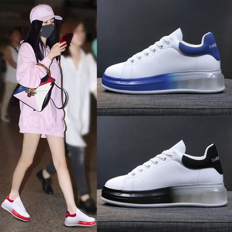 Sneakers Cushion Mcqueens-Shoes Alexande Designer Trainers White Air-Running Women Luxury title=