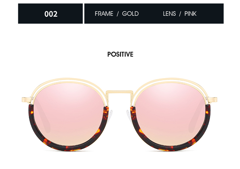 Sunglasses Women Vintage Round Sun Glasses Polarized Lens UV400 Anti Reflective Summer Polarized Women Snnglasses (26)