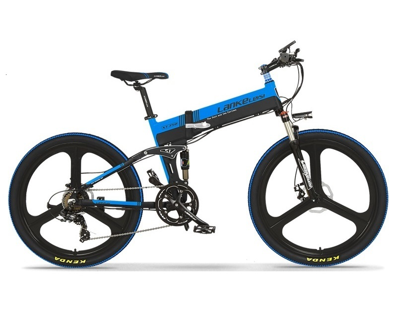 Factory outlet Lankeleisi Mountain 26 inch E-bike 400W Electric Mountain Bike with 10AH  L G Battery China seller