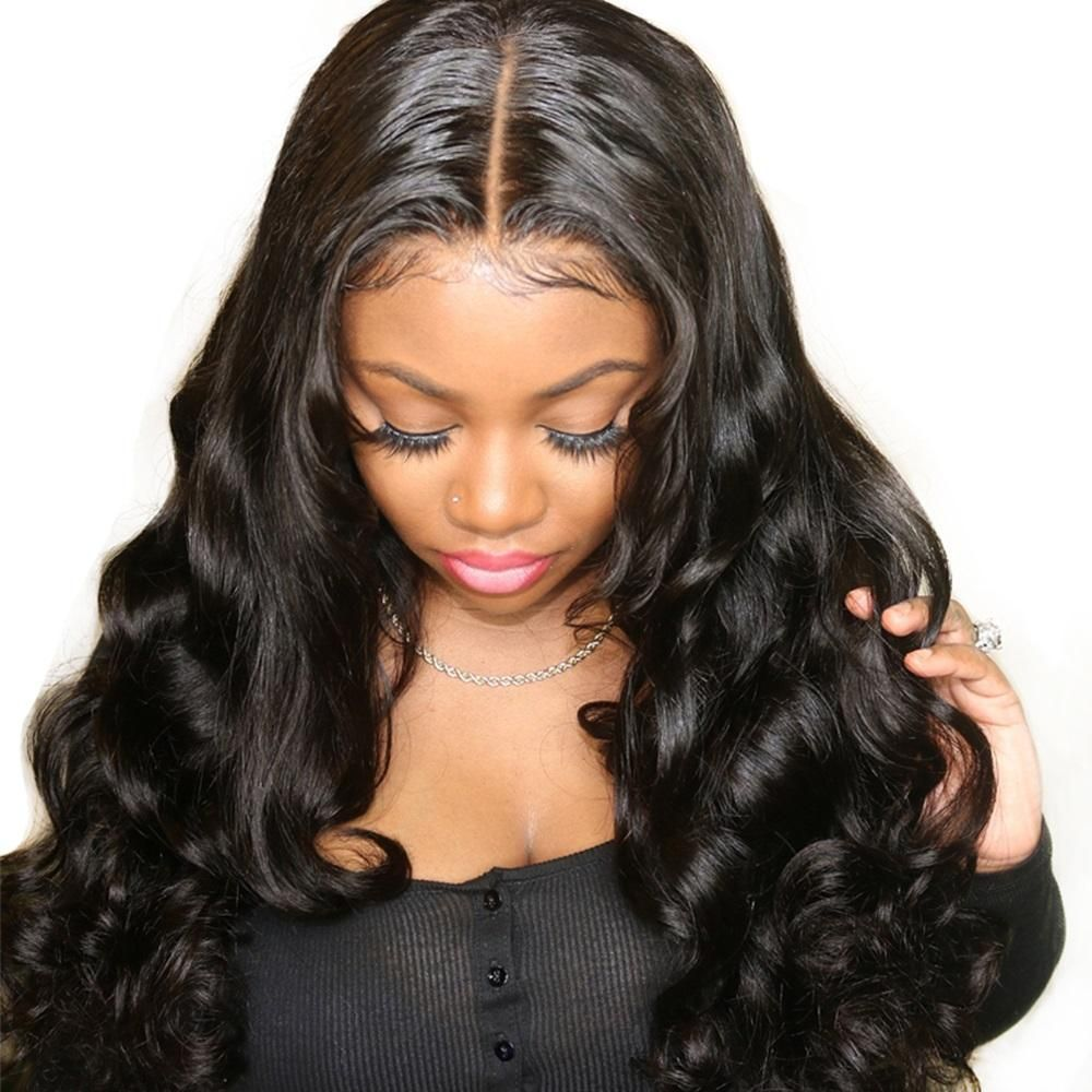 Natifah Body Wave Bundles Hair Weave 16-20 Inches Synthetic Hair Extension Bundles 70g/pcs title=
